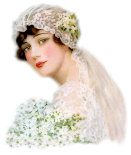 tube femme, mariée