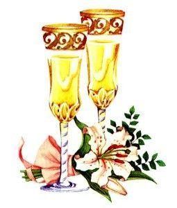 gif verre champagne