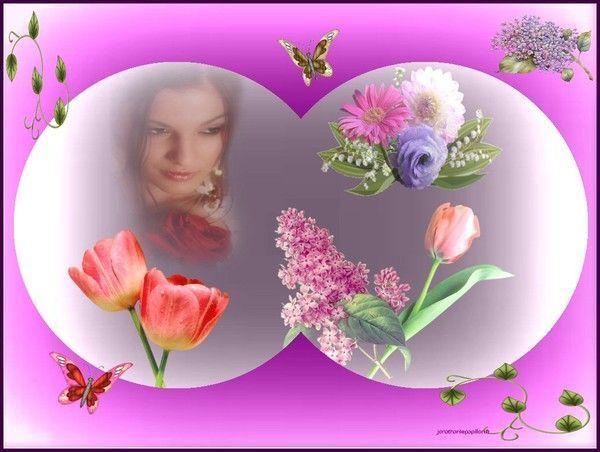 fond d'écran de guilaine : fleurs