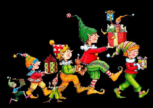 gif Noël : lutins