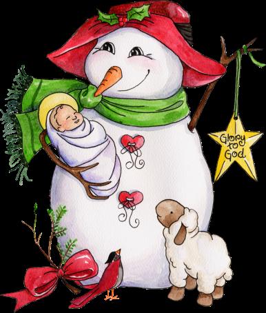 Tube no l bonhomme de neige centerblog - Clipart bonhomme de neige ...