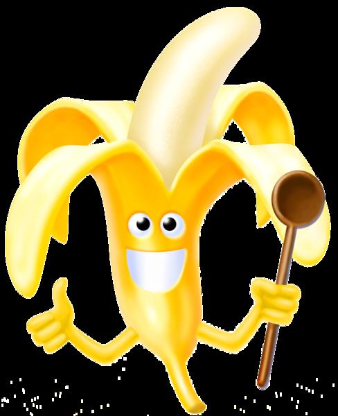gif personnage banane