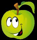 Emoticone pomme