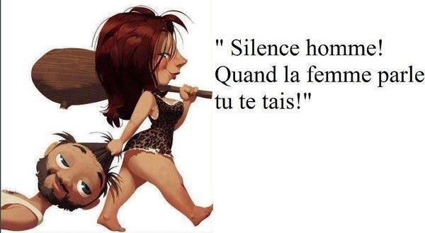 silence homme
