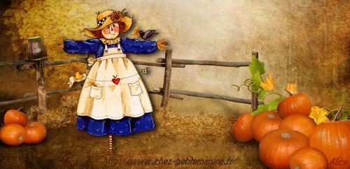bannière vierge halloween