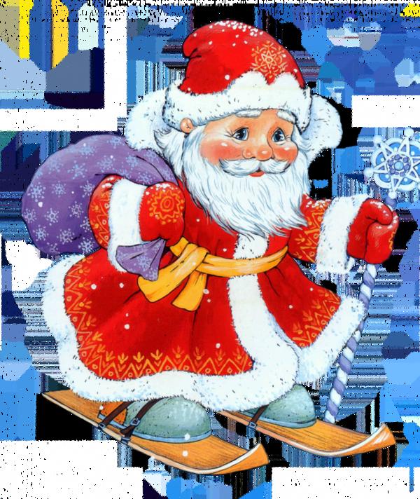 gif Noël : père Noël