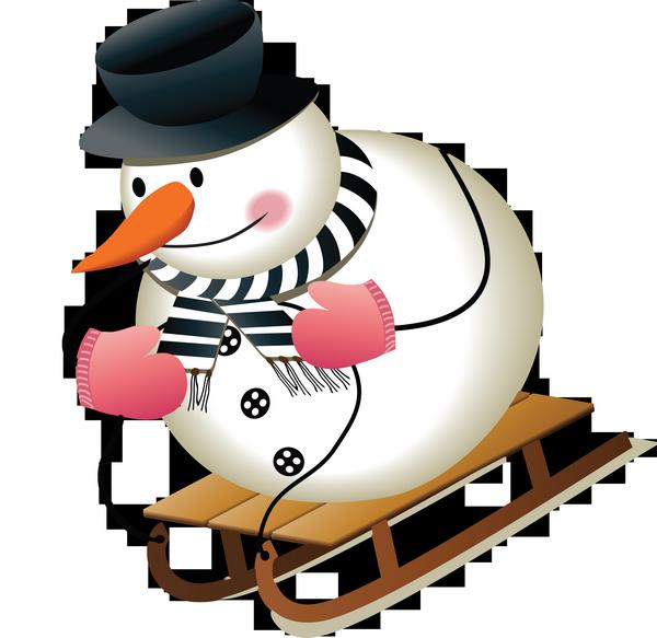 Bonhomme de neige - Clipart bonhomme de neige ...