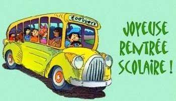 joyeuse rentrée scolaire