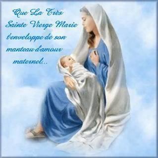 Douce et Sainte Vierge Marie priez pour nous avec Jésus le « tout Amour ». H6gez8fh