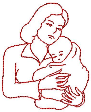 Coloriage enfant papa maman - Coloriage de maman ...