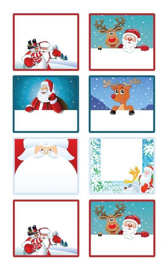 Etiquette Cadeau A Imprimer Noel