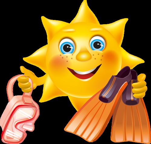 Gifs soleil - Dessin avec emoticone ...