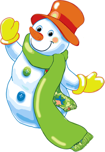 Tube bonhomme de neige - Clipart bonhomme de neige ...
